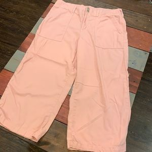 Seven7 Dusty Pink Wide Leg Summer Pants Size 14